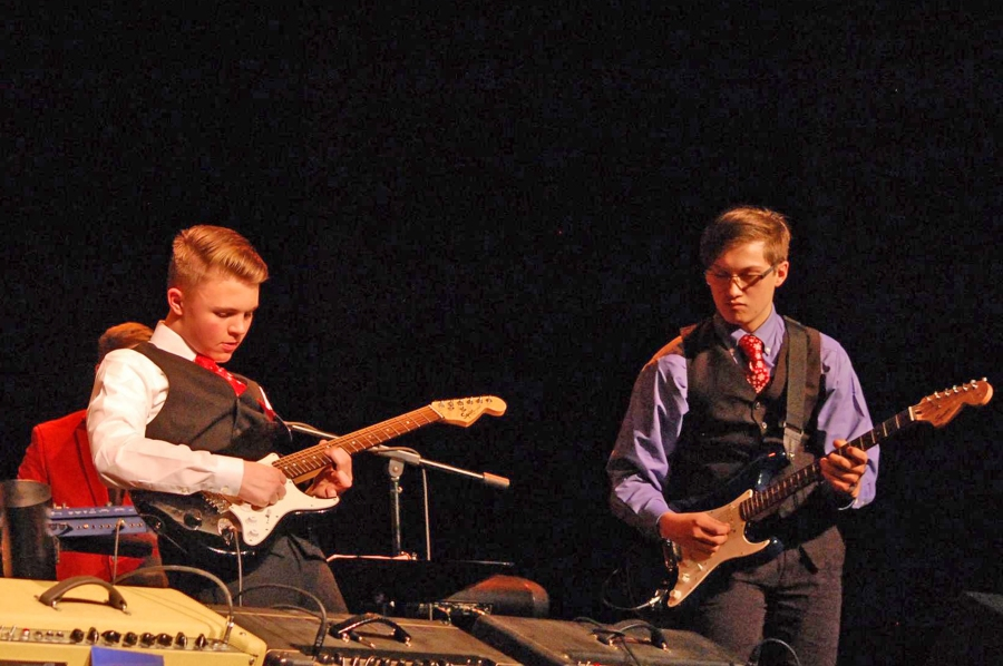 Max Hopper and Clayton Hoyle